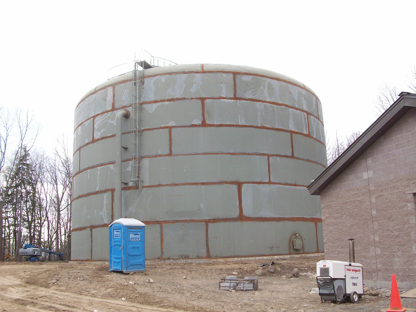 Water Tank Remediation : Removal replacement of water storage tank in latham ny